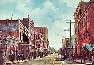 Pearl Street - Beaumont, Texas Early 1900s